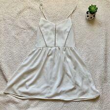 Stradivarius white Dress Size Small