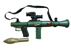KIDS TOY MORTAR ROCKET LAUNCHER GUN SNIPER SOUNDS BOYS ARMY SOLDIER PLAY