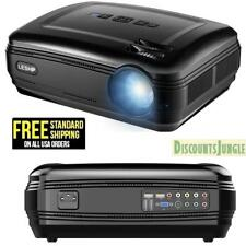 Video Projector LESHP HD 1080p 3200 Lumens Movie Support HDMI USB VGA SD