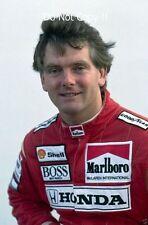 Jonathan Palmer McLaren F1 Test Driver retrato 1990 fotografía