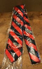 Glee Live 2011 Neck Tie Men's Red Blue Striped Warblers Blaine Polyester New