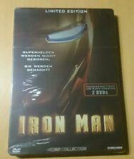 Iron Man Uncut US Kino Version Steelbook  Limited Edition 2 DVDs NEU OVP