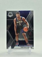 2019-20 Panini Mosaic Basketball #209 Zion Williamson Rookie Card RC Pelicans