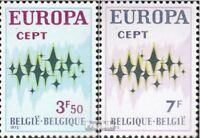 Belgien 1678-1679 (kompl.Ausg.) postfrisch 1972 Europa