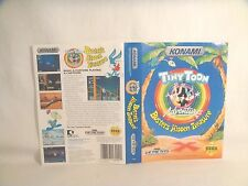 Tiny Toon Adv: Buster's Hidden Treasure -Sega art work Only!  *Original art work