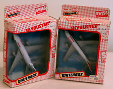 DTE 2 1989 SWISS BOXED MATCHBOX SKYBUSTERS SB-13 DC-10 & SB-28 A300 AIRBUS NIOB