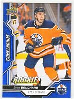 2018-19 Upper Deck Compendium Series 2 BLUE ROOKIE RC Evan Bouchard