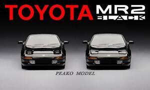Peako 1:64 1996 Toyota MR2 SW20 Black