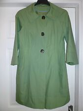 PER UNA M&S  JACKET COAT- SOFT OLIVE. MEDIUM . MINT CONDITION