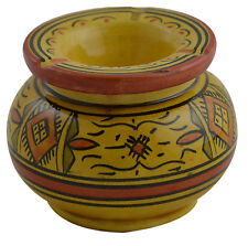 Moroccan Cigarette Cigar Ashtray Large Cuban Fire Proof Camp Outside Windproof