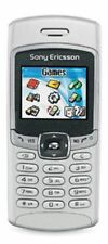 SILVER SONY ERICSSON T237 CELL PHONE FIDO GSM CAMERA CANDY BAR WIRELESS CELLULAR