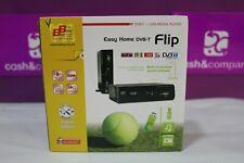 SINTONIZADOR TV TDT EASY HOME DVB-T FLIP SCART USB COMO NUEVO