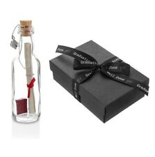 Personalised Graduation Keepsake Gift Message in a Bottle with Box | Well Done