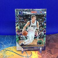 2019-20 NBA Hoops Premium Stock Luka Doncic - Dallas #39 Laser Prizm SP