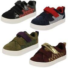 Boys Clarks Casual Shoes 'City Hero Lo'