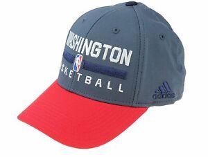 Adidas NBA Men's Washington Wizards 2015 Practice Flex Cap