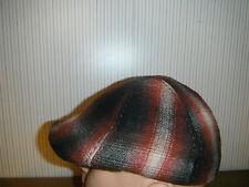WOOLRICH WOOL DUCKBILL IVY GATSBY DRIVING MENS CAP HAT GOLF SMALL TARTAN