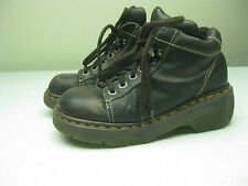 VINTAGE BROWN DISTRESSED DR DOC MARTENS MADE IN ENGLAND LACE UP BOOTS size 5/6