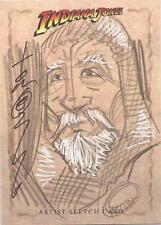 "Indiana Jones Heritage - RARE Tom Hodges ""Grail Knight"" Sketch Card"
