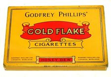 Godfrey Phillips Gold Flake Flat 50 Cigarette Tobacco Tin