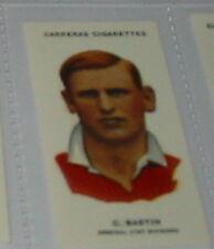 #74 - w cresswell everton R Football card