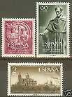 SPAIN - SERIE EDIFIL 1126 - 1128 NUEVO ESPAÑA UNIVERSIDAD SALAMANCA