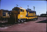 1974 ATSF Santa Fe Diesel Engine #2537 - Orig 35mm Railroad Slide