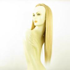 DT Half wig HairPiece extensions long light golden blond 23.6  REF :14/lg26