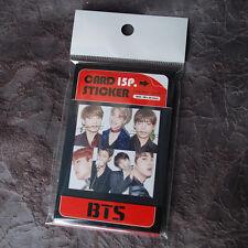 K-POP BTS Bangtan Boys PHOTO CARD STICKER (15PCS) BangtanBoy SET
