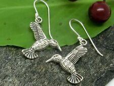Vogel Ohrringe 925 Silber Ohrhänger Kolibri Ohrschmuck