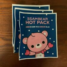Ssambear Hot Pack (3) - Official SM Entertainment KPOP Goods - Lysn Exo SHINee