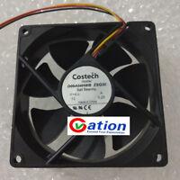 For 1Pcs Costech 9cm D09A04HWB ZSQ30 12V 0.25A cooling fan