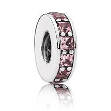 Pandora Joyería elemento intemedio infinito Rosa 791724nbp