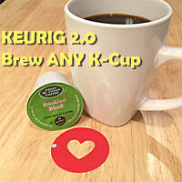 1 Keurig 2.0 Hack Reusable Ring! Brew Any K-Cup! Coffee Freedom Without A Clip!