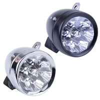 Waterproof 7 LED Vintage Bicycle Bike Light Headlight Front Retro Head Fog Lamp
