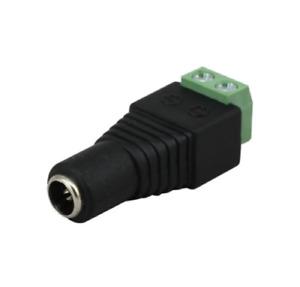 Connector for CCTV Female Plug Jack Adapter DC Power 2.1 x 5.5mm 12V 5PCS 10PCS