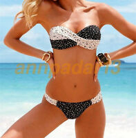 Women swathe Bikini Set Push-up Padded Bra Swimsuit Swimwear Bathing Suit