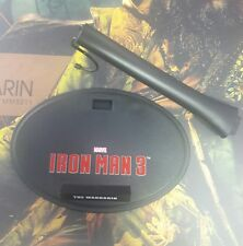 1/6 Hot Toys Iron Man 3 The Mandarin MMS211 Figure Stand Nameplate  *US Seller*