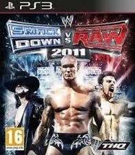 SMACK DOWN VS RAW 2011 GAME GIOCO USATO PLAYSTATION 3 PS3 SENZA SCATOLA