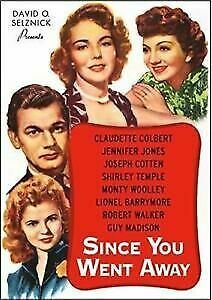 Since You Went Away -Claudette Colbert Guy Maddison -New and Sealed Region 1 DVD