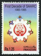 Pakistan 845, MNH. SAARC, 10th anniv. 1995