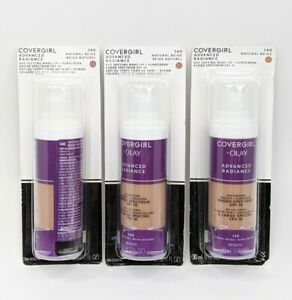 Covergirl 3X Advanced Radiance Age Defying Make-Up 140 Natural Beige Exp 9/2021+