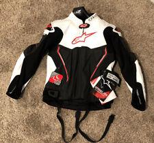 Alpinestars Atem Leather Jacket Black/White/Red 48 EU