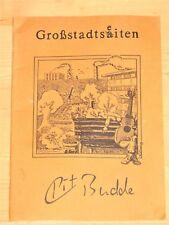 Pit Budde  - Großstadtseiten / Großstadtsaiten - Gitarrenstücke - Cochise