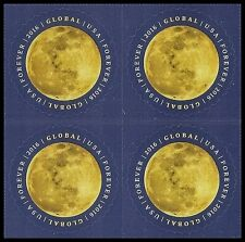 US 5058 Moon global forever block (4 stamps) MNH 2016