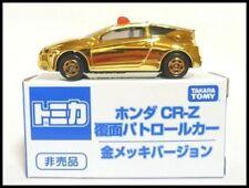 TAKARA TOMY TOMICA GOLDEN HONDA CR-Z UNMARKED POLICE CAR MIB NEW