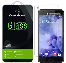 [3-Pack] Dmax Armor for HTC U Ultra Tempered Glass Screen Protector