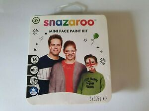 Snazaroo Mini Face Paint Kit England Red White 3.75 Football Rugby #BargainTrend