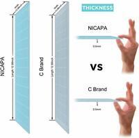 Nicapa 3 x LightGrip Cutting Mat for Cricut Explore Maker/One/Air 2 ,12x12inch