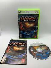 Flatout Ultimate Challenge - Xbox 360 - Video Game - Complete - CIB